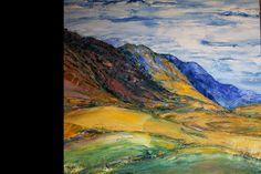 Cape Landscape   Oil on canvas  1m X 900mm