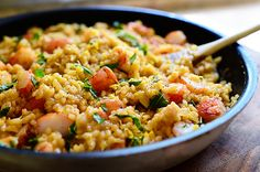 Lemon Basil Shrimp Risotto - The Pioneer Woman Cooks!