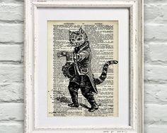 Poster Página de Dicionário Gato
