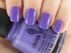 China Glaze Nail Lacquer in What A Pansy
