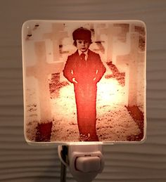 A personal favorite from my Etsy shop https://www.etsy.com/listing/529951961/damien-thorn-the-omen-night-light-fused