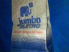 saco de papel do jumbo eletro  // muito massa meu!: Empresas e marcas que…