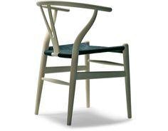 ch24 wishbone chair -  wood