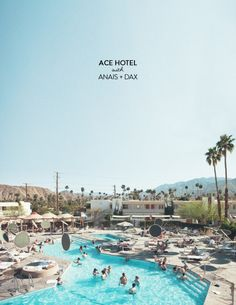 The Ace Hotel in Palm Springs is kind of like a blogger haven. It simply oozes that easy breezy, not-trying-too-hard cool factor that you just can't fake. Not having had the opportunity thus far to see it for myself, I'm glad we have talented folks like Anais Dax who can bring us along virtually. Check…