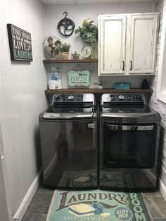 Small Laundry Room Decoration Ideas For You; Home Decor;Smart Laundry Room Arrangement Ideas To Save Your Space Laundry Room Remodel, Laundry Room Cabinets, Basement Laundry, Laundry Room Organization, Diy Cabinets, Laundry Closet, Laundry Drying, Laundry Organizer, Laundry Storage
