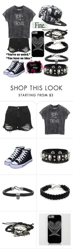 """""""Trouble"""" by musiclover135 ❤ liked on Polyvore featuring Topshop, Alexander McQueen, Zack and KING"""
