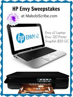 You can win this #HPCraft Bundle including a Snapfish GC, Envy x2 laptop, and an Envy AIO printer