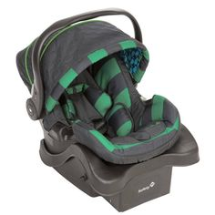 Chauffeur your baby around in style with the Safety 1st onBoard car seat. In a versatile, gender neutral pattern, this car seat is the safe, secure way to get your baby from one place to another.