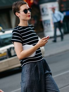 breton stripes & denim. Berlin.