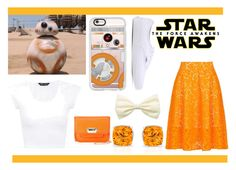 """""""Star Wars: The Force Awakens: BB-8"""" by following-the-trendsetter ❤ liked on Polyvore featuring Casetify, MSGM, Vans, Neiman Marcus, starwars and contestentry"""