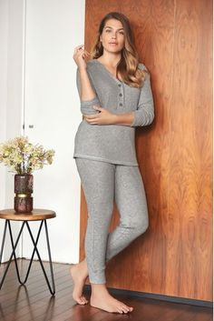 Buy Grey Y-Neck Pyjamas from the Next UK online shop Latest Fashion For Women, Mens Fashion, Xmas Wishes, Next Uk, Pyjamas, Uk Online, Grey, Pants, Kids