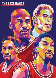 Michael Jordan Poster, Michael Jordan Pictures, Basketball Art, Love And Basketball, Basketball Legends, Basketball Posters, Pop Art Illustration, Portrait Illustration, Sport Nutrition