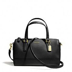Coach :: MINI SATCHEL IN SAFFIANO LEATHER