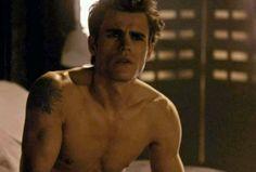 Shirtless Stefan, OMG *DEAD*