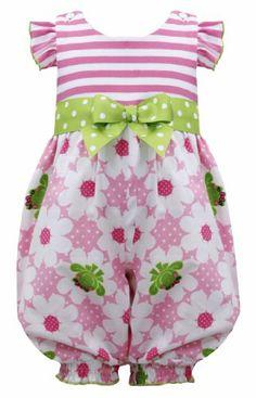 Pink Green Stripe Knit to Frog Floral Print Romper PK2BA, Pink, Bonnie Jean Little Girls 2T-6X, LG-BA, Sleeveless-Jumpsuit Bonnie Jean,http://www.amazon.com/dp/B00J4DERIA/ref=cm_sw_r_pi_dp_L2Lltb0DTV9DRHV4