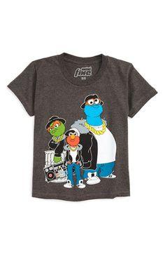 Mighty Fine 'Sesame Street - Run Sesame' T-Shirt (Toddler Boys & Little Boys)