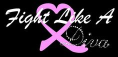 Breast cancer support pink ribbon tshirt on etsy.com