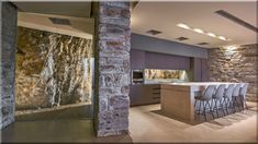 modern stílusú nappali design stílusú luxus apartman, lakásfelújítási ötletek modern stílusú konyhák