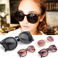 5664e51ca5 Hombres mujeres la moda Retro flecha estilo gafas redondas Saulneron marco  gafas Unisex