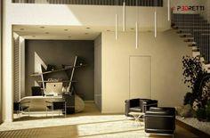 Office project: Studio in stile in stile Moderno di P3dretti Conference Room, Studio, Table, Furniture, Home Decor, Trendy Tree, Decoration Home, Room Decor, Meeting Rooms