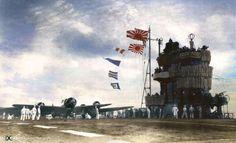The IJN Carrier Akagi. December 1941