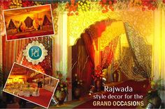 Extravagant ‪#‎Wedding‬ ‪#‎Decor‬ - ‪#‎stage‬ setup by ‪#‎Pandhi‬#Decorators. click on the link to book now: http://goo.gl/b8Yj6q