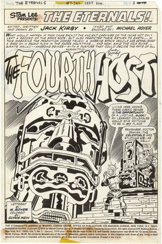 The Eternals ...and the Celestials. The craziness that was Jack Kirby.