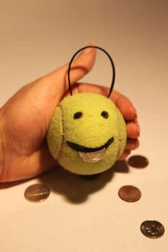 fine motor draw face on tennis ball make slit for mouth (small = more difficult) Feed it (use those pinchers! or tweezers for added fine motor) Make it burp out the coins to play again, and for a laugh with your child Fun Crafts, Crafts For Kids, Arts And Crafts, Hand Therapy, Stroke Therapy, Cute Diys, In Kindergarten, Fine Motor, Craft Projects