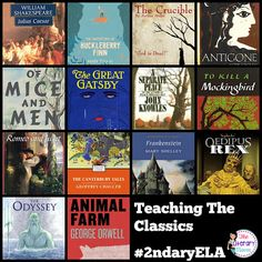 Middle and High School English Language Arts discuss classic titles we teach, why they are still important, how to support students who struggle with them, and making connections with modern day issues. Join secondary English Language Arts teachers Tuesday evenings at 8 pm EST on Twitter.