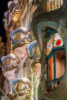 Casa Batlló, Gaudi, Barcelona (Catalonia) by Tatsuro Ogata