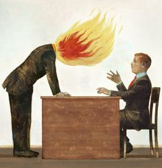 Sometimes it's smart to get angry. Find out why in this Op-Ed from the Sunday Review. (Illustration: Gérard DuBois)
