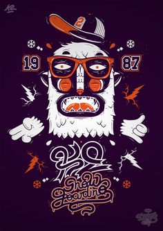 K2 Snowboarding x DXTR / Vandal 12/13 by DXTR , via Behance