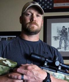 """A tribute to Chris Kyle. """"His hunting - that was him from the time he was a little boy. That was him being out in nature. That was him finding his peace. That was him providing meat for the family."""" -Taya Kyle #ThisIsLegendary #CelebrateTheHunt"""