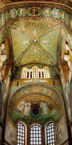 Emilia-Romagna, Ravenna ~ Basilica San Vitale (early Christian Byzantine art and architecture) Beautiful Architecture, Beautiful Buildings, Art And Architecture, Architecture Details, Beautiful Places, Beautiful Scenery, Beautiful Life, Ravenna Italy, Emilia Romagna