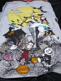 Disney Nightmare Before Christmas Character Shirt Mens sz M Free Shipping NWT