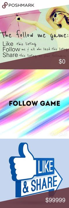 ⭐️✨FOLLOW GAME ✨🌟 🌟✨FOLLOW GAME✨🌟 Like this post, follow me and everyone else who liked this post, then SHARE this post!! Help me reach my goal of 5k followers!! Victoria's Secret Dresses Mini