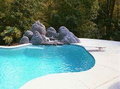semi inground pools | Ground Pools With...