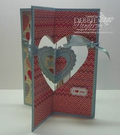 Debbie's Designs: Free Friday-Four Folds Card! with directions