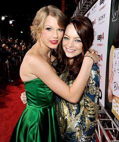 Emma Stone and Taylor Swift