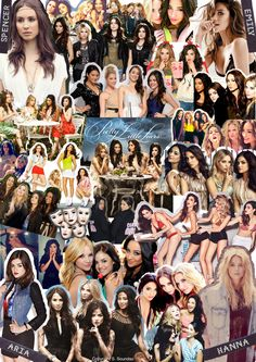 A Pretty Little Liars Collage by me...'cause I love this show and cast. :)