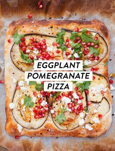 berenjena + granada de pizza | designlovefest