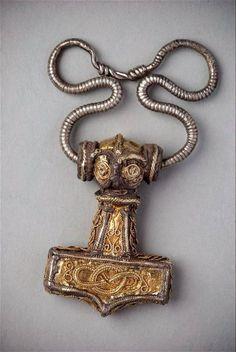 A 10th-century Mjölnir from Odeshog, Sweden