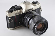 [Exc] Nikon FM10 35-70mm F3.5-4.8 lens kit 35mm SLR Film Camera #Nikon