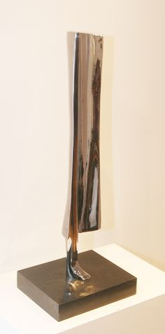 Nagi Farid Tadros Hesitated 63 cm Bronze plated nickel