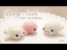 Baby Seals Needle Felt Tutorial