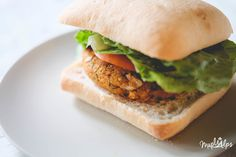 Juicy Smoked Chickpea Burger (vegan with gluten free options) — Maple Alps Vegan Chickpea Burger, Vegan Bean Burger, Vegan Burgers, Seitan Recipes, Vegetarian Recipes Videos, Cooking Recipes, Burger Recipes, Bacon Wrapped Potatoes, Plant Based Burgers