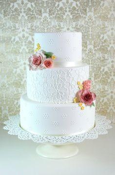 Blossom Lace Rosa Clará inspiration - Stravaganza Cakes