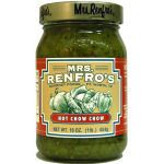 ~ Mrs. Renfro's Hot Chow Chow, a great Southern Condiment, nothing goes better with a bowl of black eye peas, turnip greens and a hot slice of corn bread.