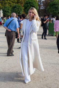 Paris Street Style: Spring 2015 Ready to Wear | Vanity Fair