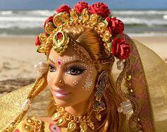Sundari Gopi Doll OOAK Barbie Doll Indian princess